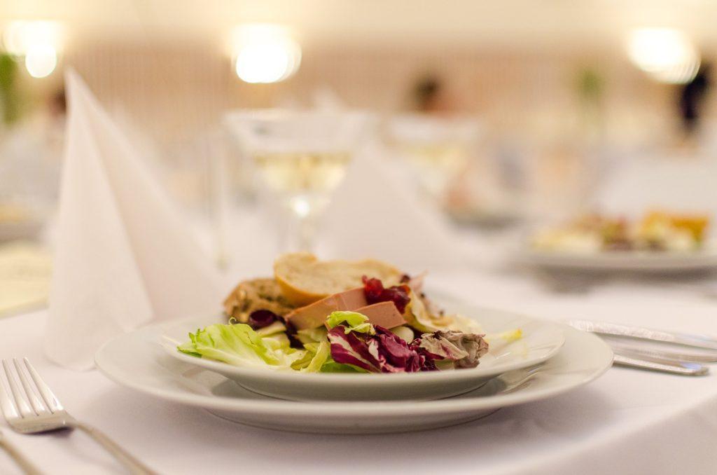 mariage repas