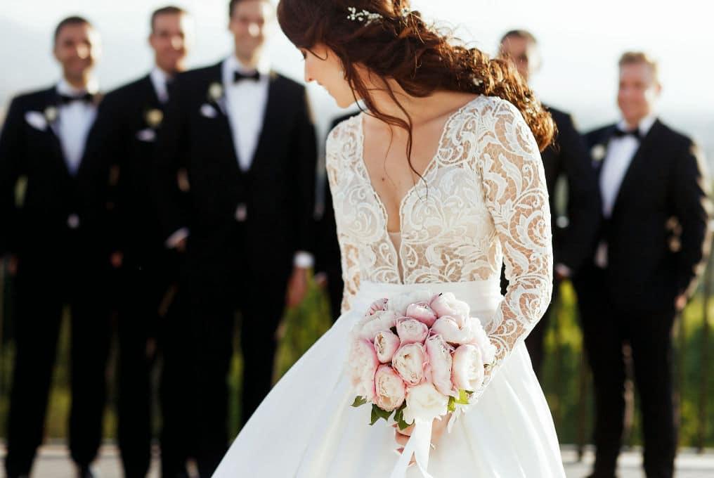 robe mariage mariéé